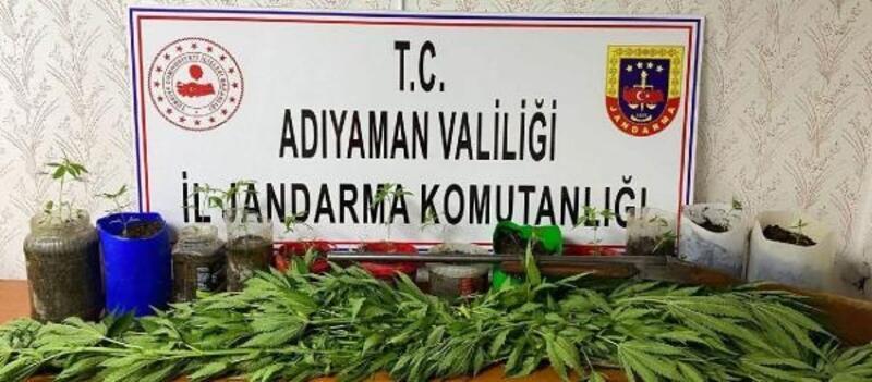 Adıyaman'da uyuşturucu operasyonu