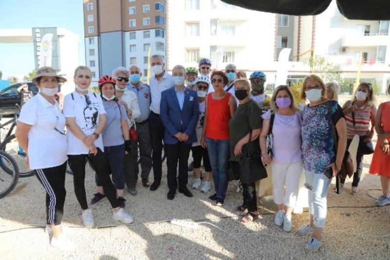 Mezitli'de yeni bir hobi bahçesi daha açıldı