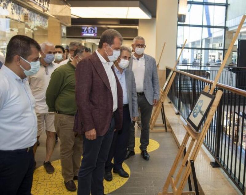 Büyükşehir'in Dünya Çevre Günü etkinlikleri karikatür sergisi ile başladı