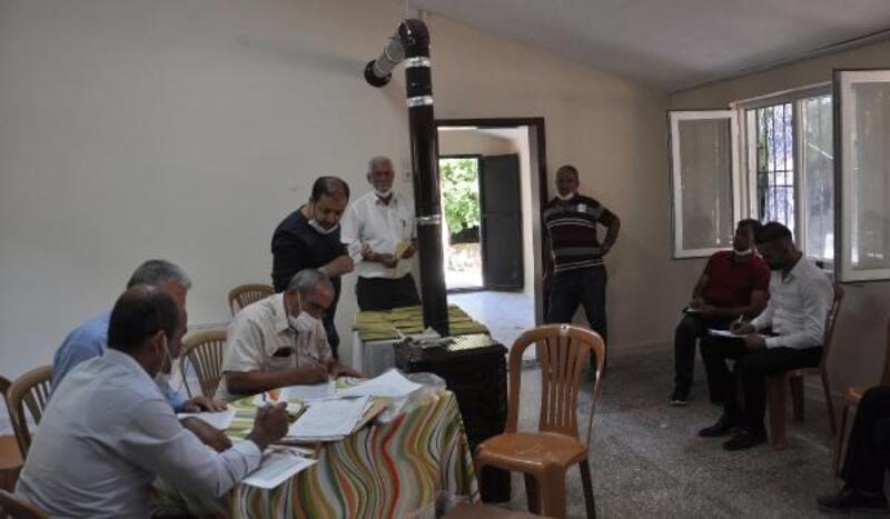 İslahiye'de 2 mahallede muhtarlık seçimi yapıldı