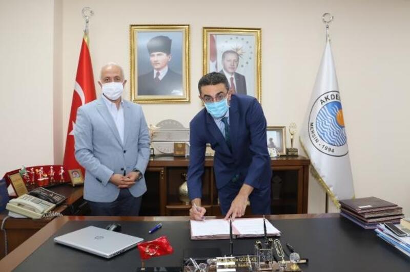 Akdeniz Belediyesi ile Sağlık Müdürlüğü arasında protokol imzalandı