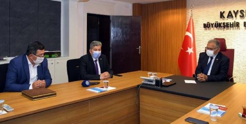 Ziraat odalarından Başkan Büyükkılıç'a ziyaret