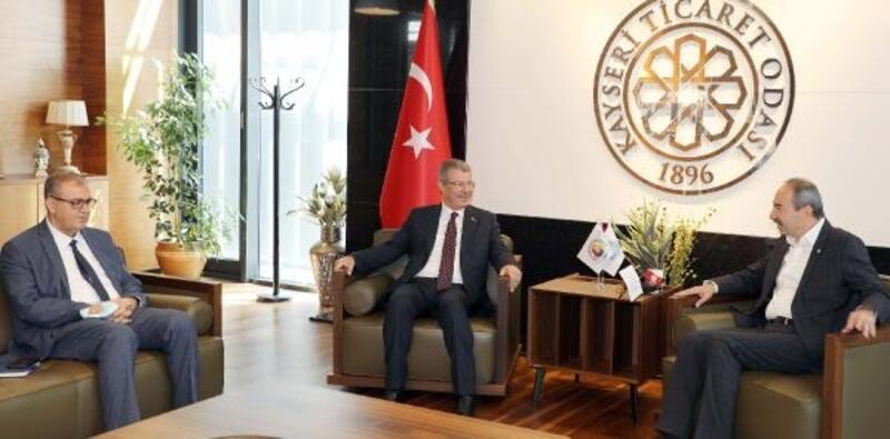Kayseri Şeker'den KTO Başkanı Gülsoy'a ziyaret
