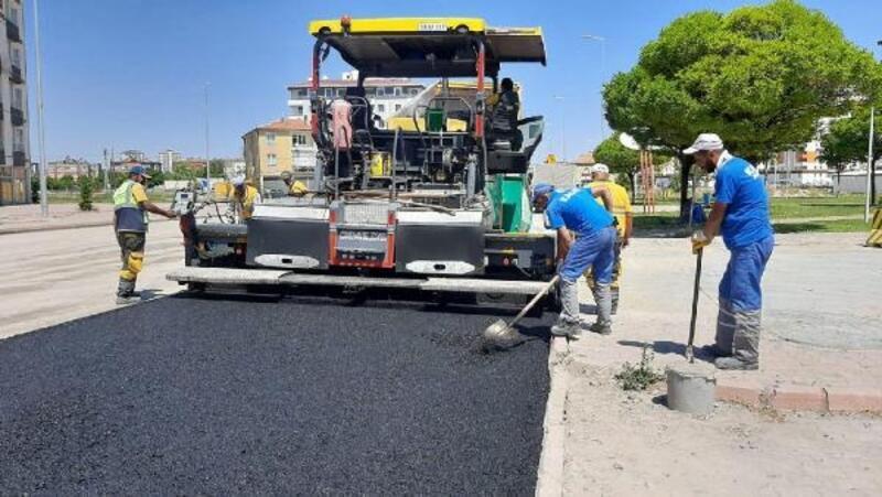 Kocasinan'da asfalt yenileme çalışmaları sürüyor