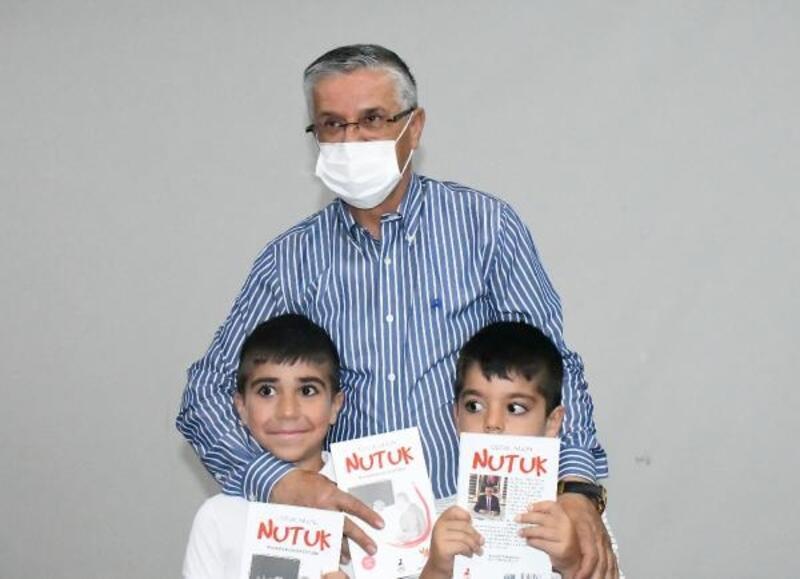 Başkan Topaloğlu'ndan çocuklara 'Nutuk'