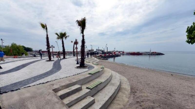 Süleymanpaşa sahili yeniden düzenleniyor