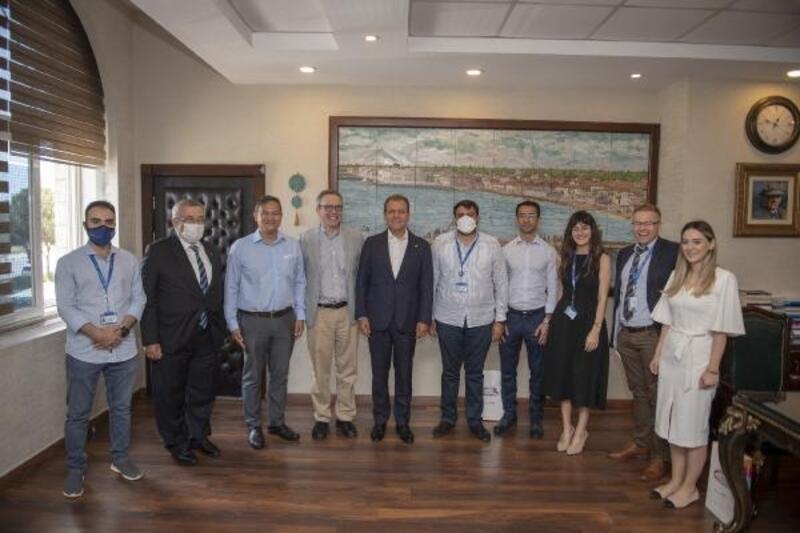 BM heyeti Seçer'i ziyaret etti