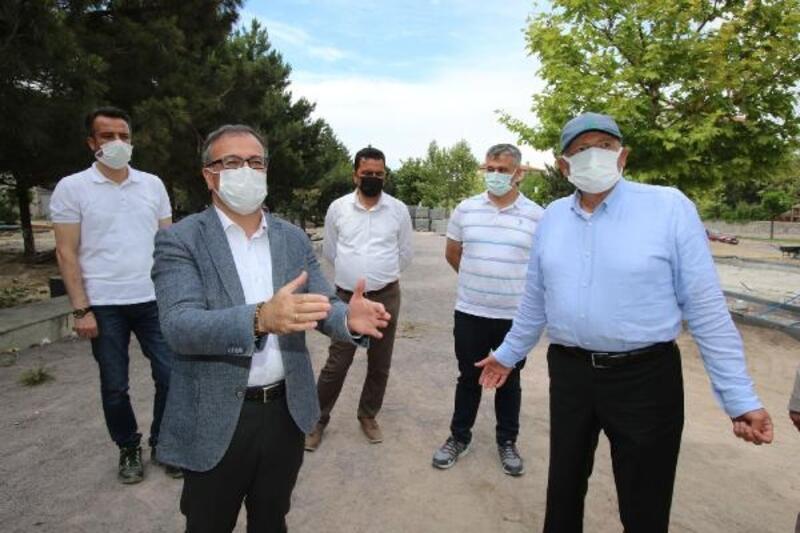 15 Temmuz Şehitler Parkında çalışmalar sürüyor