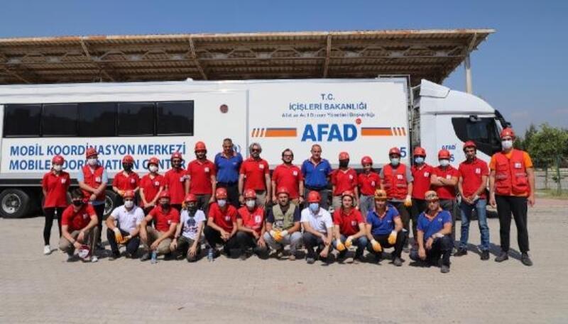 Türk Kızılay'ı İzmir Şubesi ekibiyle, afetlerde arama- kurtarmaya katılacak