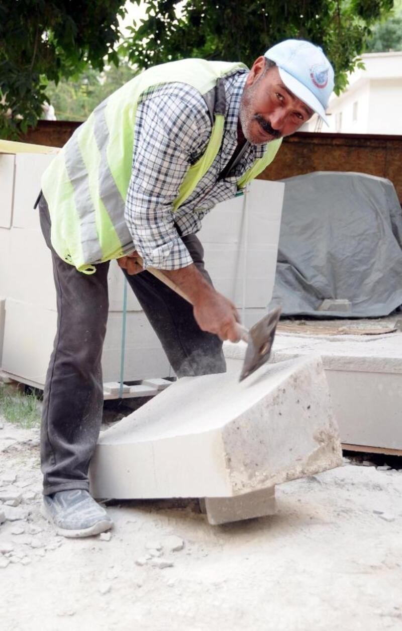 Mimar Sinan'ın memleketinde taş işçiler, tarihi yapıları restore ediyor
