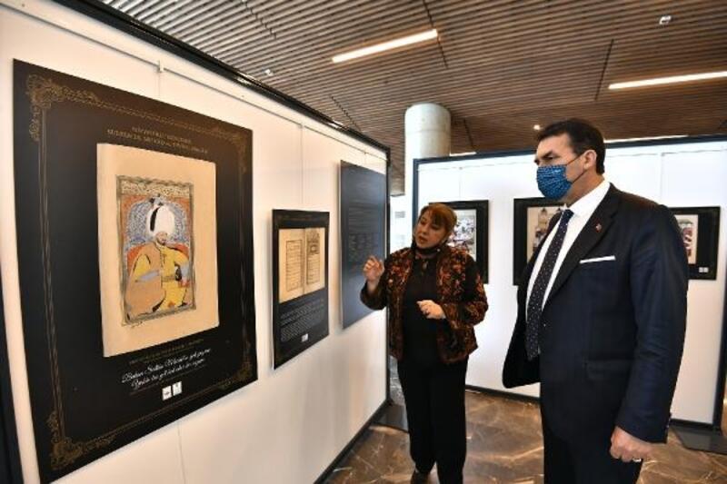 Fetih Müzesi'nde,Minyatür Eserlerde Sultan 3. Murad ve Divan sergisi