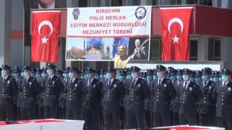 Kırşehir POMEM'den 294 polis adayı mezun oldu