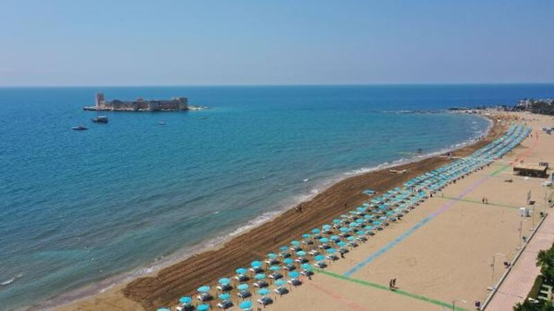Mersin Büyükşehir'in 9 plajı yaza hazır