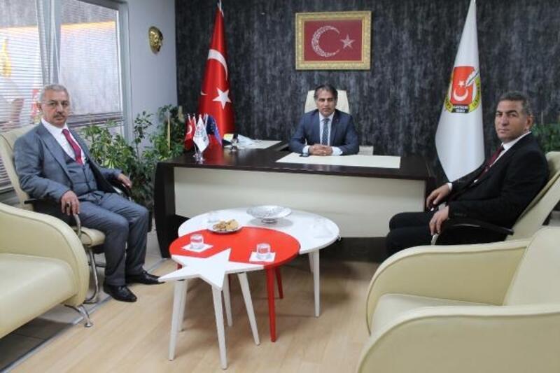 TUZED Genel Başkanı Doğan'dan KGC'ye ziyaret