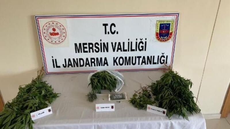 Tarsus'ta uyuşturucu operasyonunda 2 şüpheli yakalandı