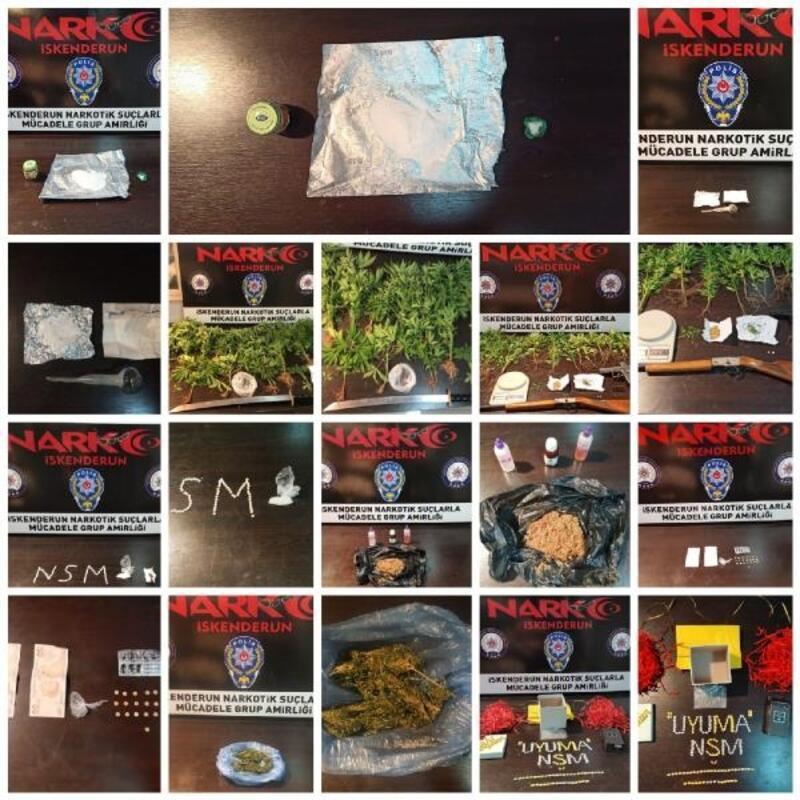 Hatay'da uyuşturucu operasyonunda 7 kişi tutuklandı