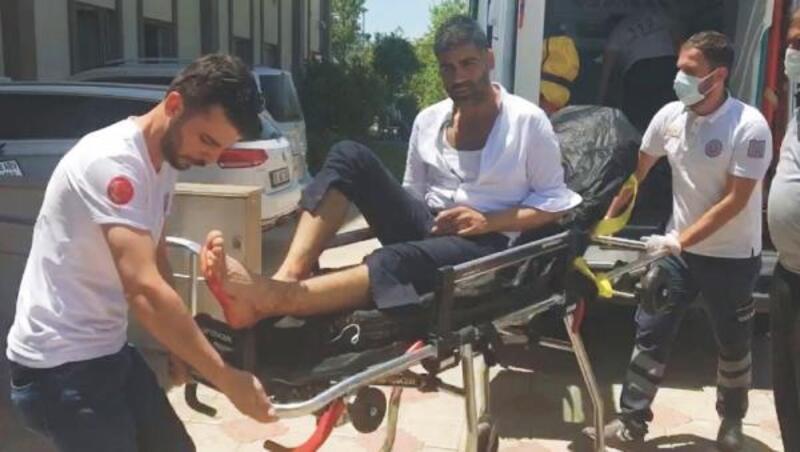 Kahta'da alacak kavgası: 1 yaralı