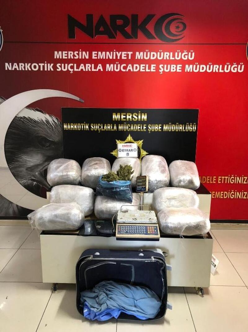 Mersin'de uyuşturucu operasyonuna 1 tutuklama