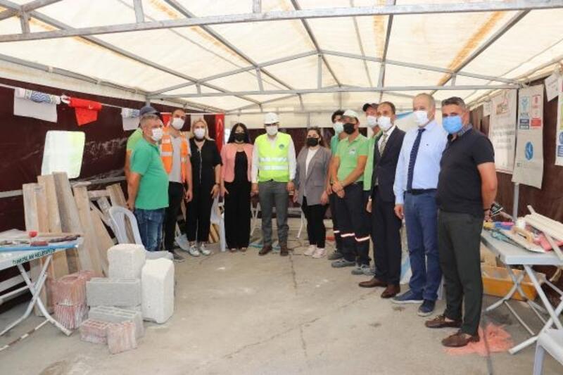 Toroslar Belediye personeline 'Mesleki Yeterlilik' belgesi
