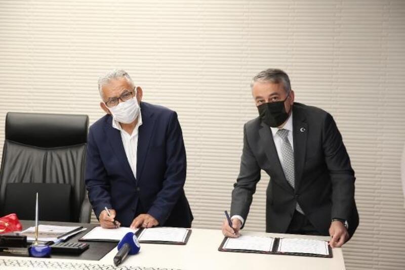 Büyükşehir Belediyesi'nde mera protokolü imzalandı