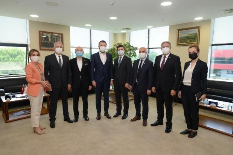 Bosna Hersek Büyükelçisi Alagiç, BTSO'yu ziyaret etti