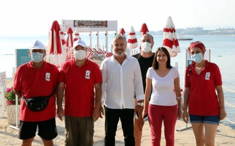 Başkan Sözen, Nar Beach plajlarını inceledi