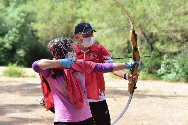 Aslantaş Gençlik Kampı'nda yaz dönemi başladı