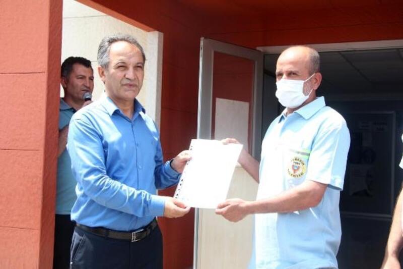 Belediye personeline Mesleki Yeterlilik Belgesi verildi