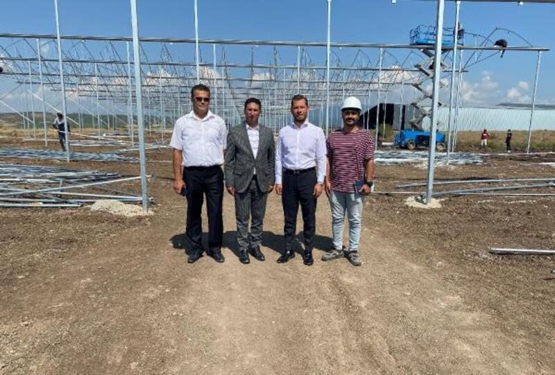 Osmaniye OSB'ye 3 milyon TL yatırımla muz serası