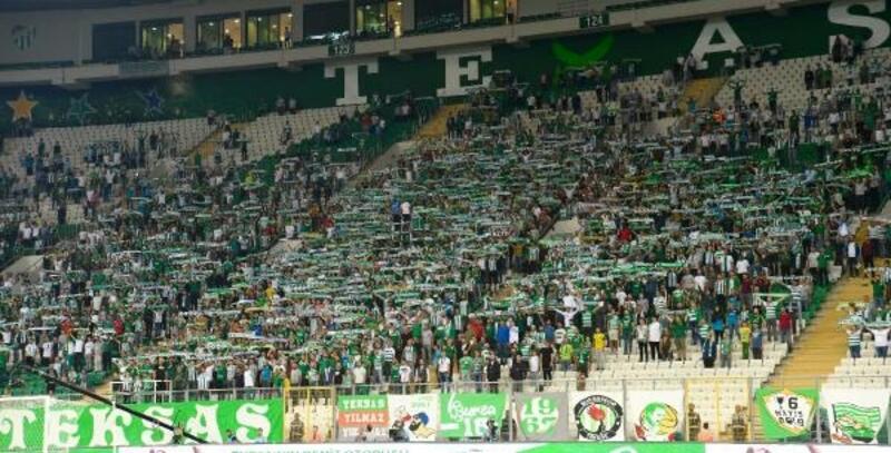 Bursaspor taraftarından yönetime destek