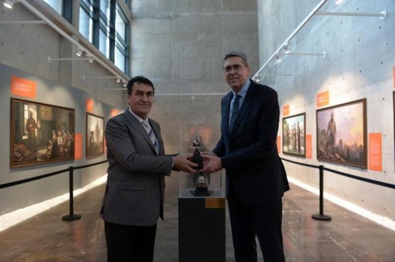 Bosna heyeti, Fetih Müzesi'nde