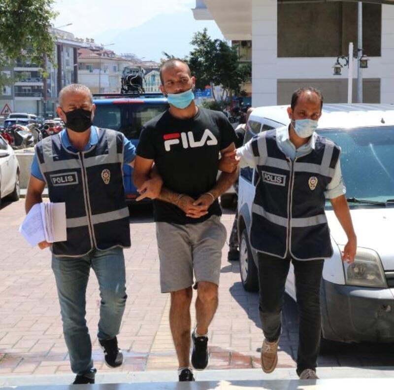Alanya'da hırsızlık şüphelisi yakalandı