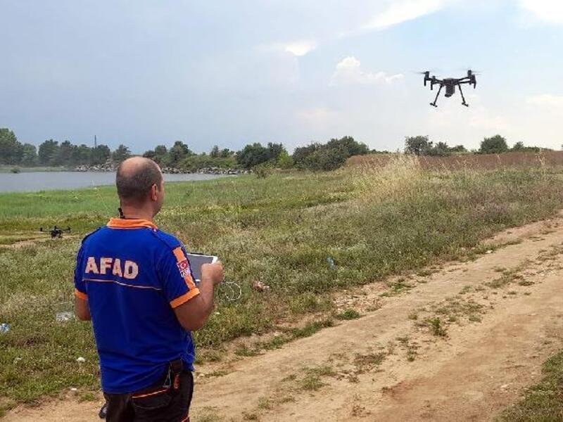AFAD'dan 'drone' eğitimi ve tatbikatı
