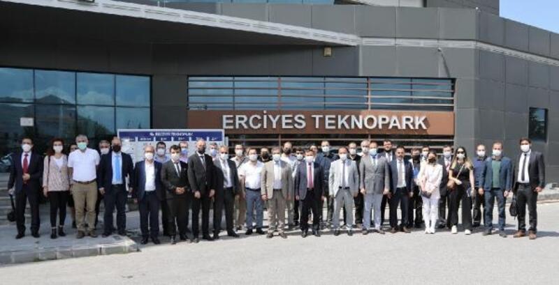 ERÜ'de AnadoluÜniversiteler Birliği Strateji Kurulu toplantısı