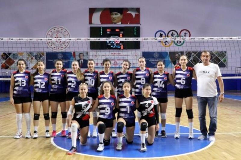 Bodrum Doğuş Spor, Kadınlar Voleybol 2'nci Ligi'ne yükseldi