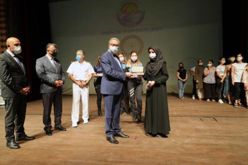 'Bir Damla İyilik' projesinde kursiyerler sertifikalarını aldı