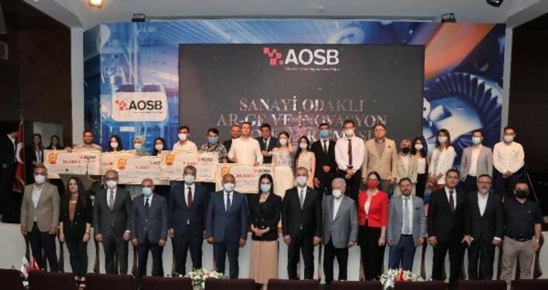 Sanayi Odaklı AR-GE ve İnovasyon Proje Yarışması ödülleri sahiplerini buldu