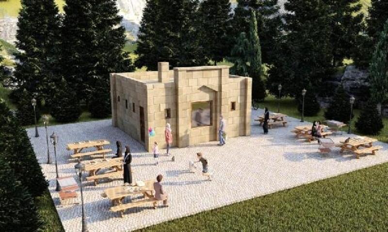 Kaş Belediyesi'nden Görümlü'ye proje