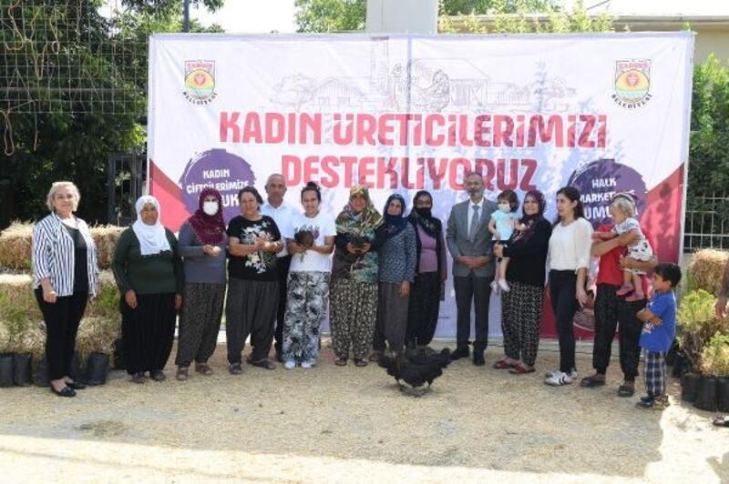 Tarsus'ta üretici kadınlara pozitif ayrımcılık