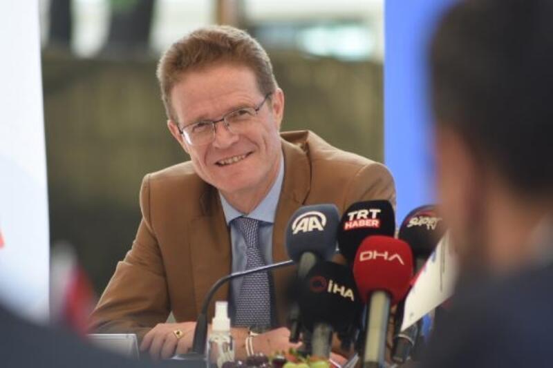 AB Türkiye Delegasyonu Başkanı Büyükelçi Nikolaus Meyer-Landrut, Bursa'da
