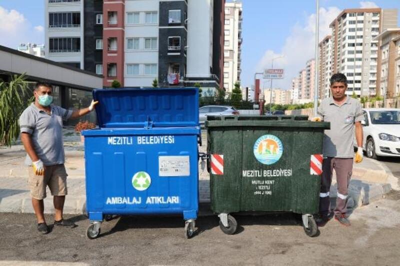 Mezitli Belediyesi'nden 'Sıfır Atık' projesi