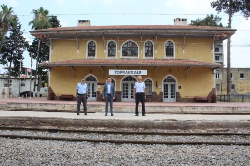 Toprakkale Tren Garı ve Meydan Projesi'nde inceleme