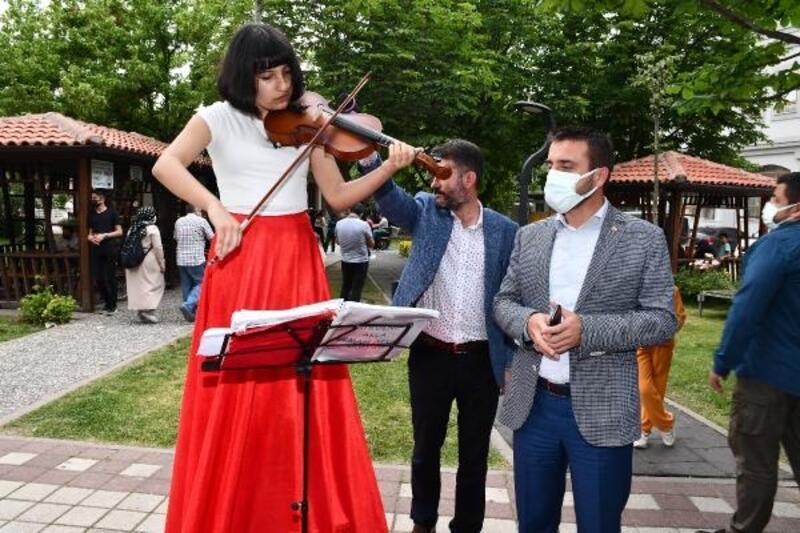 Kestel'in dört bir yanında müzik keyfi yaşandı