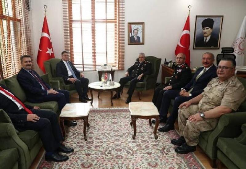 Jandarma Genel Komutanı Orgeneral Çetin, Tokat'ta