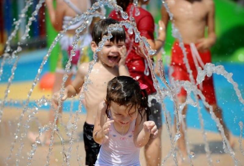 Su Oyunları Parkı yeniden hizmette