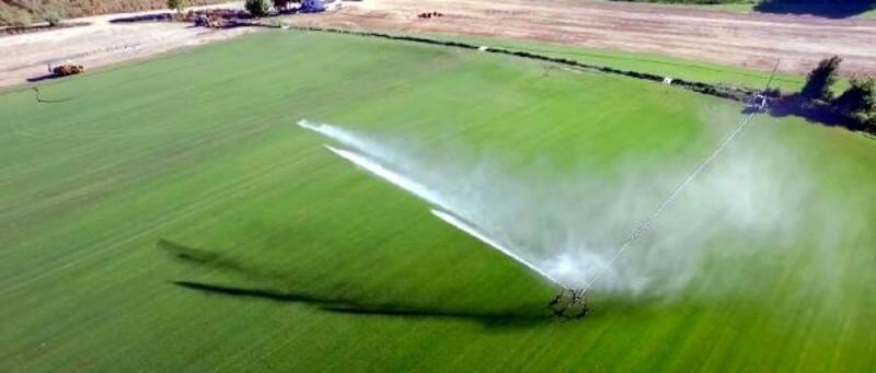 Trakya'da yeni sezonda 695 bin 720 dekar arazi sulanacak