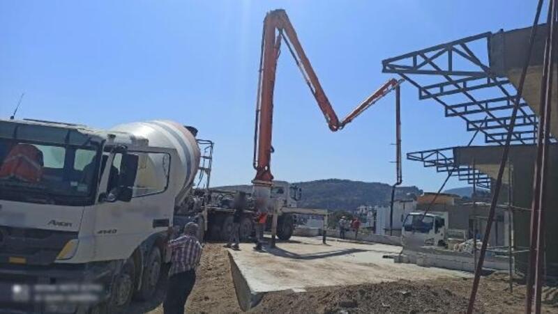 Bodrum'da yasağa uymayan 381 inşaat çalışması durduruldu, 27 şantiye mühürlendi