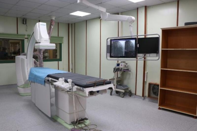 Gaziantep'te anjiyo cihazı onarıldı, hizmet vermeye başladı