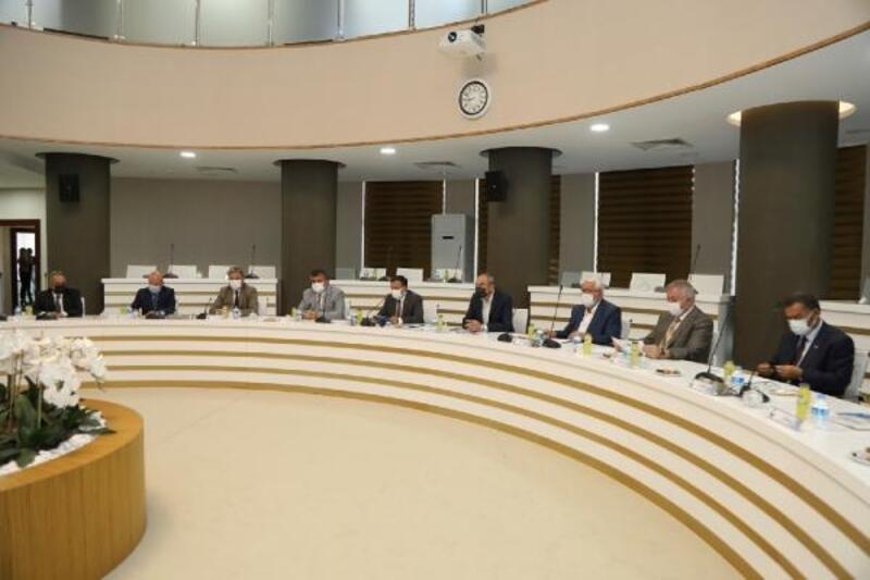 ERÜ'de'Ahi Evran Etkinlikleri' toplantısı