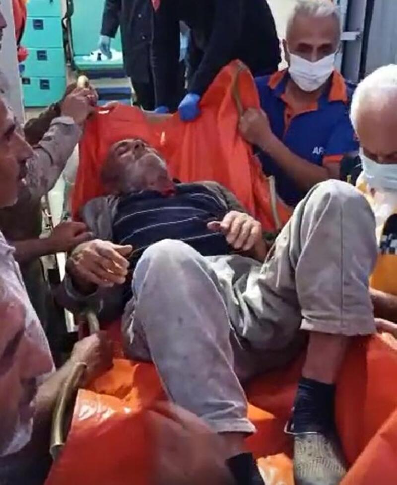 Kaybolan yaşlı adam, 2 gün sonra bulundu
